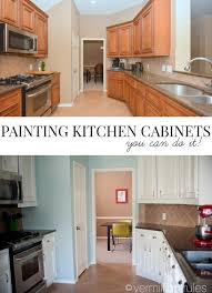 painting for kitchen a diy project painting your kitchen cabinets