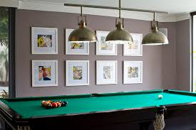 Pool Table Ceiling Lights Contemporary Pool Table Lights Basement Contemporary With None
