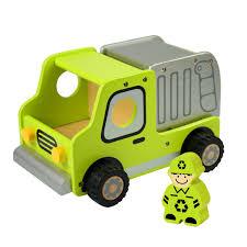 wooden truck i u0027m toy deluxe wooden garbage truck baby vegas