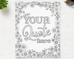 quote coloring etsy