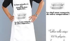 tablier de cuisine personnalisé pas cher tablier de cuisine personnalisé pas cher 100 images tablier de
