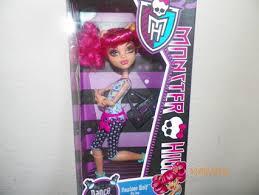 free monster doll dance class howleen wolf hip hop pink hair