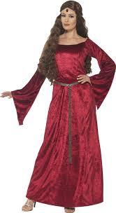 d馮uisement femme de chambre médiéval costume femme de chambre reine marion déguisement