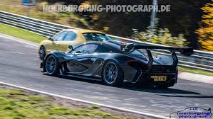 mclaren p1 crash is the mclaren p1 lm gearing up for a nurburgring record attempt
