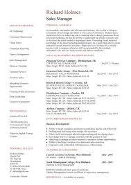 Sales Manager Resume   marketing manager resume