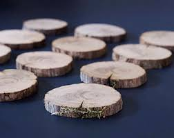 wedding supply wood slices etsy