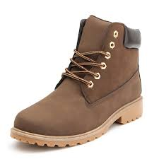 womens boots outdoor work boots winter leather boot lace up outdoor