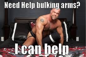 Bulking Memes - bulk arms quickmeme