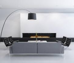 Contemporary Gas Fireplaces by Minimal Contemporary Gas Fireplace Interior Living Room Royalty