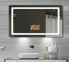 Led Bathroom Mirror by Led Tv Bathroom Mirror