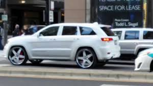 jeep grand srt8 2014 all white 2014 srt8 jeep grand on 26