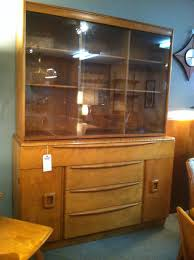 Heywood Wakefield China Cabinet Remnant New Arrivals Hawthorne Vintage