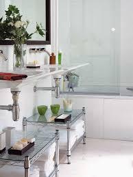 creative storage ideas for a small bathroom elegant bathroom