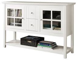 console table tv stand walker edison console table tv stand for most tvs up to 55 white