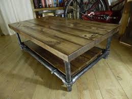Industrial Coffee Table Diy Coffee Tables Industrial Coffee Table With Drawers Diy