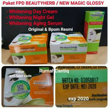 Serum Vege jual paket fpd fpd day magic glossy serum vege