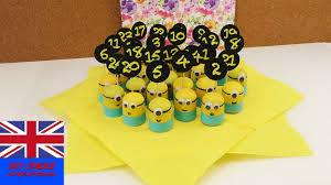 diy advent calendar u2013 minion surprises for children u2013 christmas