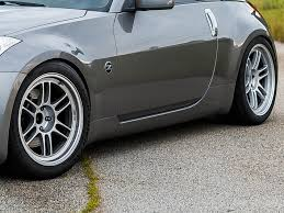 nissan 350z quarter panel replacement oem 350z side skirts z1 motorsports