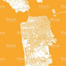San Francisco On World Map by San Francisco City Map Stock Vector Art 513394652 Istock