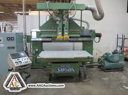 Woodworking Machinery Auction by Aag Auctions Major Wood Furniture Manufacturing Facility