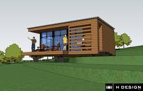 modern cabin design with 840 sf modern rustic redwoods cottage
