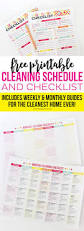 House Cleaning List Template Best 25 Cleaning Schedule Printable Ideas On Pinterest Weekly