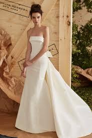 Wedding Dress Trend 2018 Carolina Herrera Bridal Spring 2017 Collection Vogue