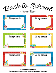 printable name tags free printable school name tags