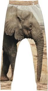 elephant print baggy leggings u2014 asphalt flowers