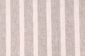 Striped Drapery Fabric Top Notch In Papyrus Sheer Linen Blend Stripe Drapery Fabric By Bravo