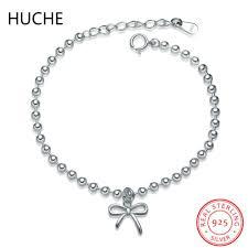 sted jewelry huche bowknot bracelet 925 sterling silver bracelet for