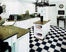 black and white kitchen floor images black white checkered garage kitchen continuous vinyl