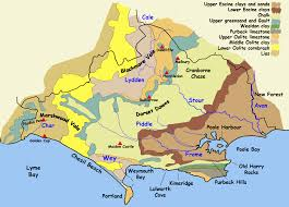 Dorset England Map by Dorset Geology Png