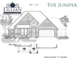 Custom Floor Plans For New Homes The Juniper The Grove New Home Floor Plan Midlothian Texas