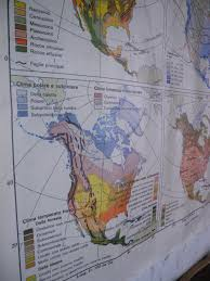 Italian Map Double Sided Italian Map Of North America 1976 For Sale At Pamono