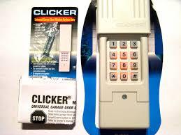 replacement garage door remote garage doors clicker keypad programto smart learn button type4