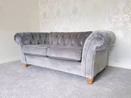 Chesterfield Sofa Dimensions by Brand New Next Gosford Buttoned Chesterfield Sofa In Bearsden
