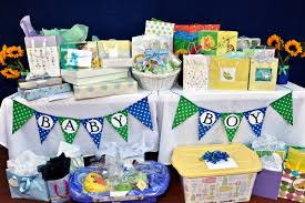 baby shower table gift ideas gift table for baby shower decoration
