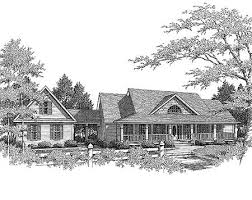 country farm house plans country farmhouse with breezeway 3611dk architectural designs