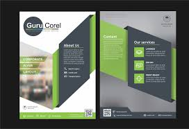 tutorial membuat logo coreldraw x5 brochure design tutorials in coreldraw x7 x6 x5 x4 x3 guru corel