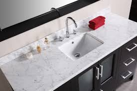 stylish bathroom vanity with top for home decorating concept with