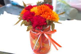 jar flowers craft flower jars laughed