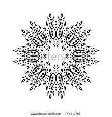 ornamental mandala stock vector 398448145