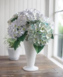 hydrangeas flowers diy paper hydrangea flowers