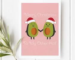 avocado love card etsy