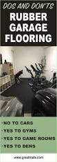 Gym Flooring For Garage by Best 25 Rubber Garage Flooring Ideas On Pinterest Garage Gym