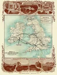 Ireland Rail Map Railway Station Carlow