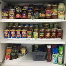 how to store food in cupboards kitchen organisation tin storage pantry organisation