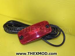 red led marker lights light marker red led 24v hella 2tm345600317