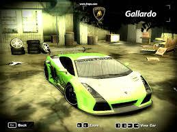 Lamborghini Gallardo Body Kit - nfs most wanted lamborghini gallardo youtube